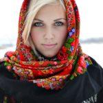 Русский платок в современном мире